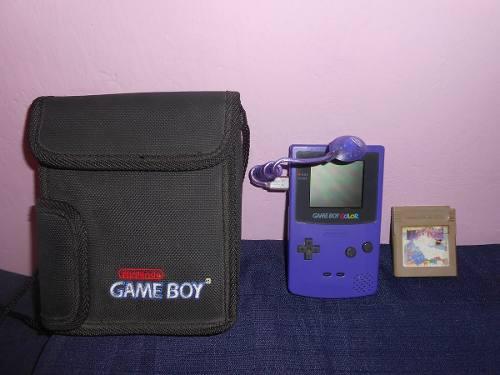 Gameboy color con tetris bien cuidado estuche