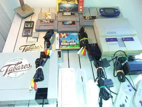 Lote nintendo, nes, snes, game boy, wii, 64