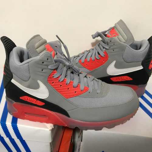 Nike sneaker boots ice infrared nba 9,5us colección