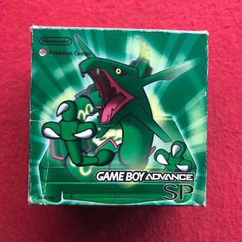 Nintendo game boy sp rayquaza pokemon center kong!