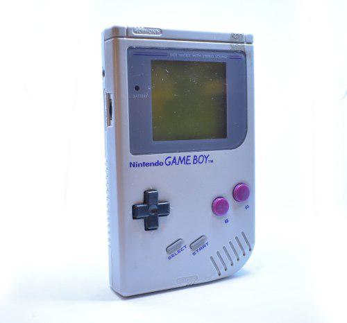 Nintendo gameboy clasico tabique funcionando completo tapas