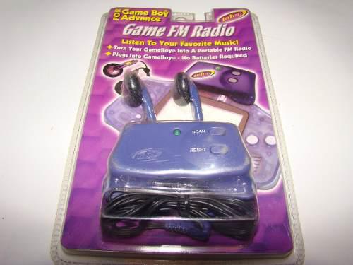 Radio gameboy advance, normal y sp, nes,snes,gba,xbox,ps4,