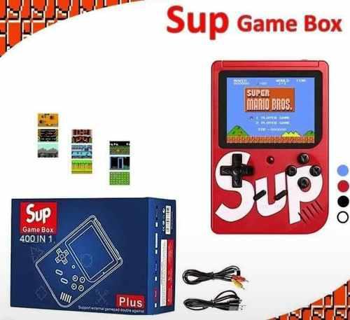 Sup game box nintendo portatil 1 pieza + envio gratis