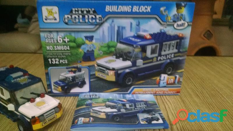 Juego de construcción tipo lego
