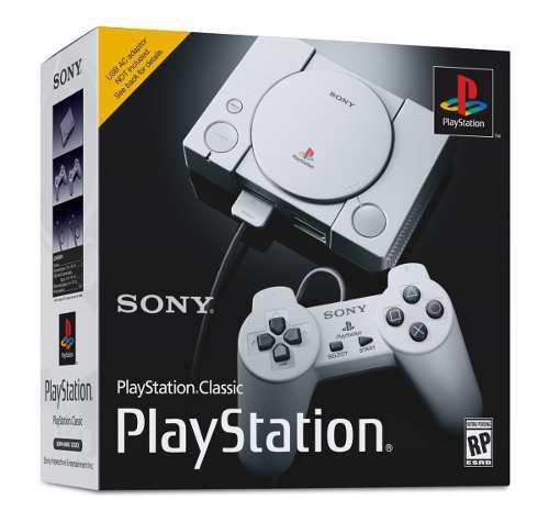 Consola sony playstation classic mini - original, nueva