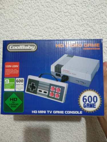 Consola videojuegos mini, hdmi, 600 juegos clasicos, colbaby