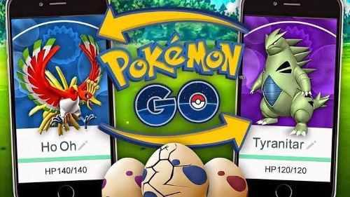 Pokemon go intercambio buen pc