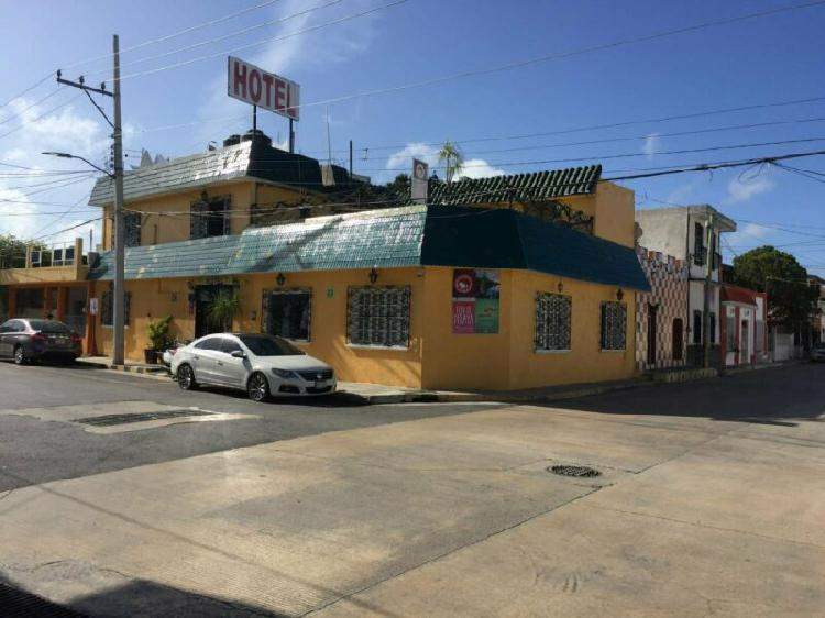 RENTO HOTEL UBICADO A 2 CUADRAS DEL MALECÓN DE CAMPECHE