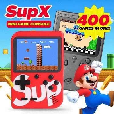Sup game box consola de videojuegos retro portátil 400