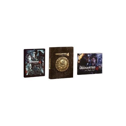 Uncharted 4: un thiefs fin edición especial - playstation 4