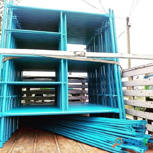 Fabricación de andamios modulares para trabajo en alturas
