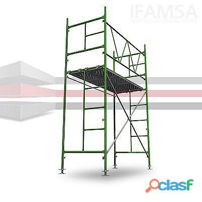 Renta de torres / andamio para trabajos de altura