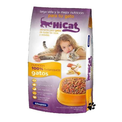 Hi cat 15kg alimento para gato:)