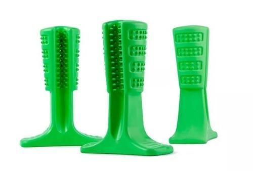 Juguete silicon cepillo dientes perro limpieza + regalo