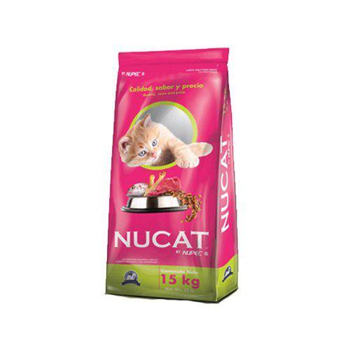 Nucat 15kg croqueta alimento gato by nupec envio gratis