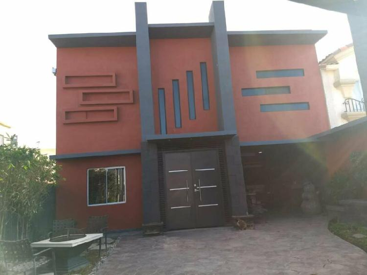Rento casa amueblada, en toledo residencial segunda seccion.