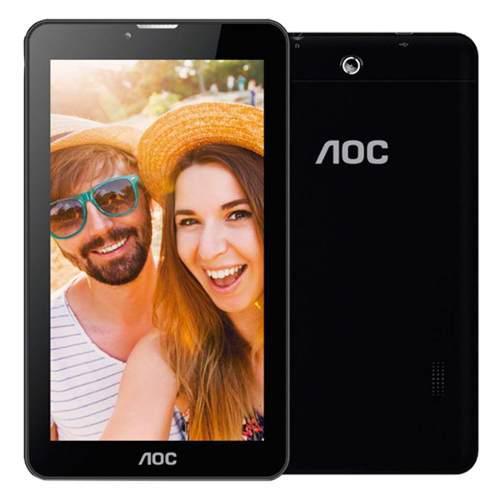 Tableta aoc a731 quad core 7in 8gb 1gb ram negra android 6