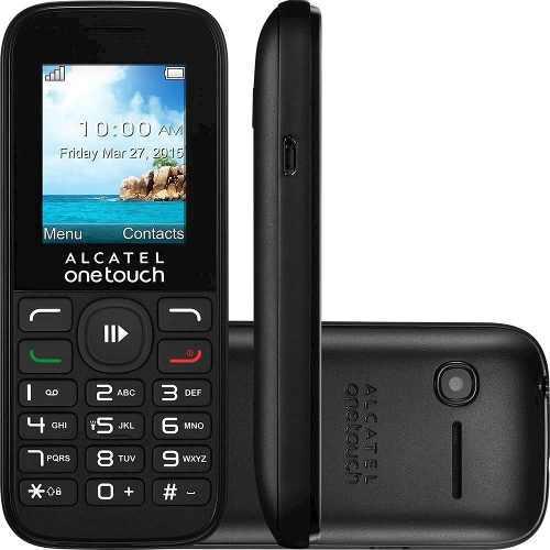 Alcatel one touch 1050a, liberado para cualquier compañía