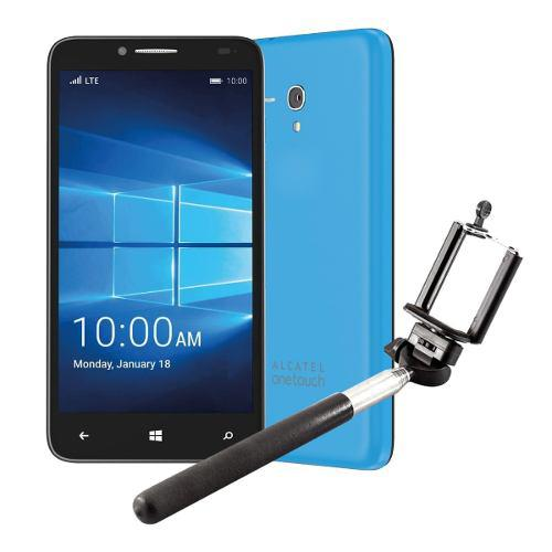 Alcatel one touch fierce xl 16gb win 10 + selfie stick