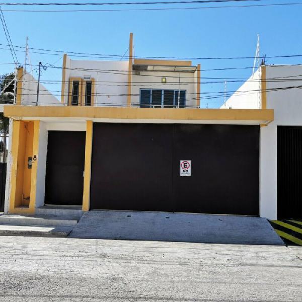 Casa en renta de 4 recamaras en ciudad del carmen