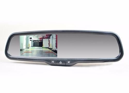 Espejo retrovisor con monitor para cámara de reversa