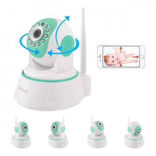 Monitor bebe audio y video vision nocturna robotizado wi fi