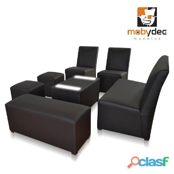 Salas lounge precios de fabrica modelos personalizados mobydec