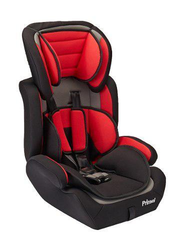 Autoasiento booster silla para carro prinsel strada rojo