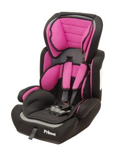 Autoasiento booster silla para carro prinsel strada rosa
