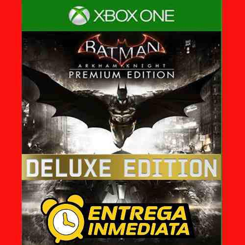 Batman arkham knight premium edit xbox one offline no