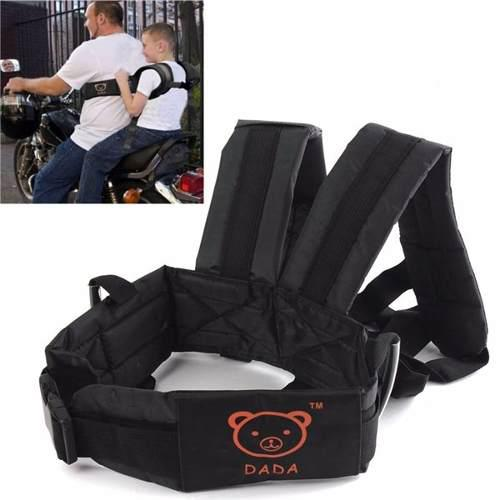 Cinturón, arnés de seguridad para niño, motocicleta