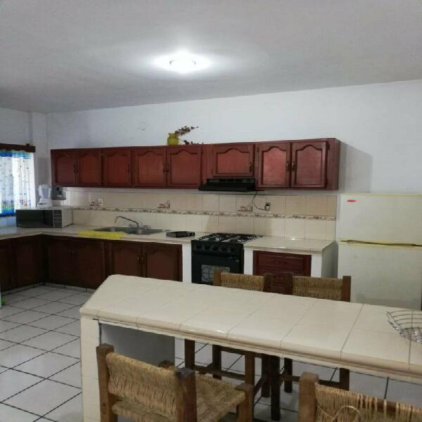 Departamento renta mazatlán, 2 recámaras amueblado