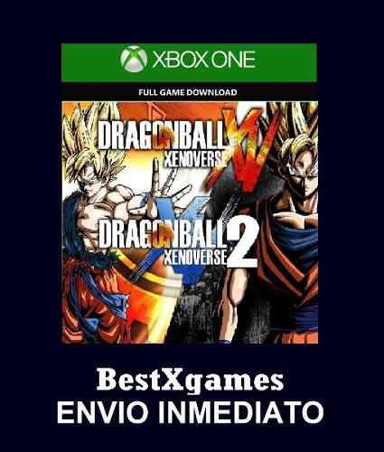 Dragon ball xenoverse 2x1 xbox one offline y online licencia