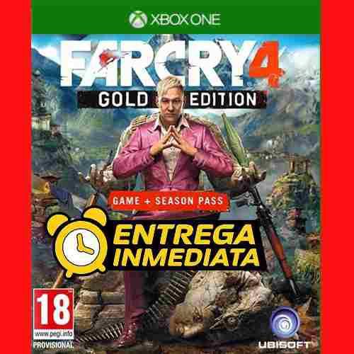 Far cry 4 gold edition xbox one digital offline no código