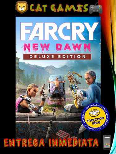 Far cry new dawn deluxe edition online y offline xbox one