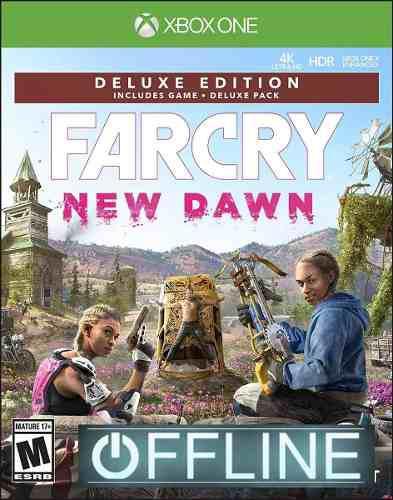Far cry new dawn deluxe xbox one offline no codigo