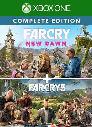Far cry new dawn + far cry 5 para xbox one juegas online