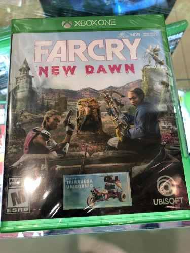 Far cry new dawn nuevo sellado xbox one incluye dlc