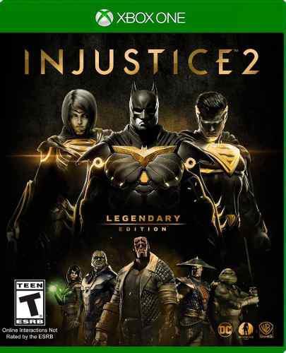 Injustice 2 legendary edition::.. para x box one en gc