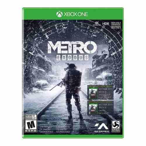 Metro exodus: gold edition | juego completo | xbox | offline