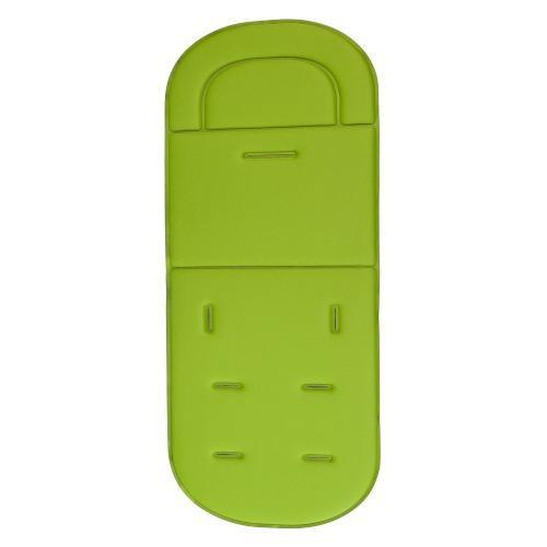 Silla de paseo asiento coche transpirable algodón verde