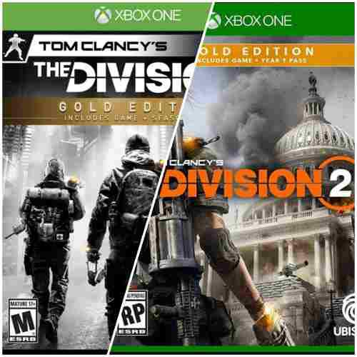 Tom clancy's the division 1 y 2: gold edition!!! xbox one