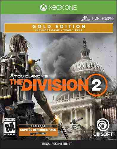 Tom clancy's the division 2 - gold edition - xbox one c8