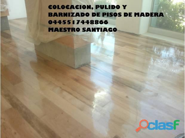 Mantenimiento de pisos de madera