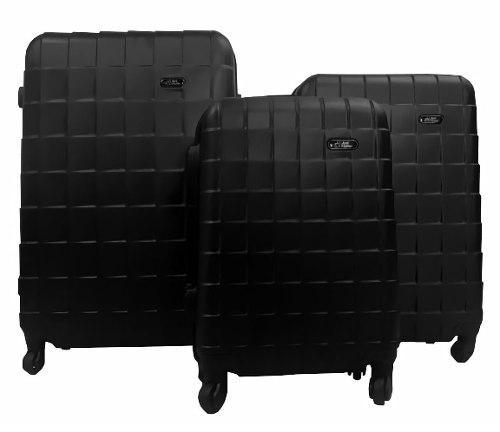 9d0387b12 Juego maletas viaje set 3 maleta rigidas ruedas
