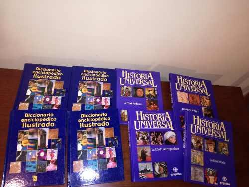 Oferta!! diccionario ilustrado + enciclopedia de historia