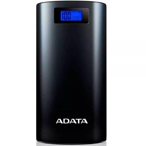 Power bank adata cargador bateria portatil p20000d negro
