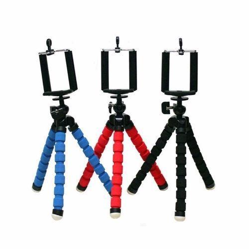 Tripie flexible soporte universal base celular camara iphone