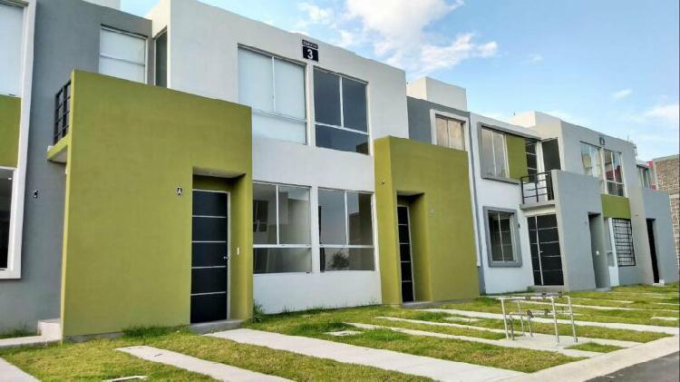 Casa dúplex nueva en desarrollo a 7 minutos de periférico