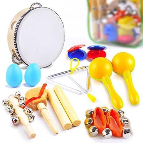 Agreatlife para niños instrumentos musicales - percusión